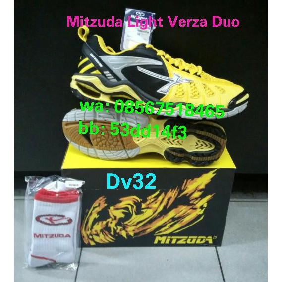 Sepatu Volly   Voli Mitzuda Light Verza Duo Red - Original  7f98fab5a6