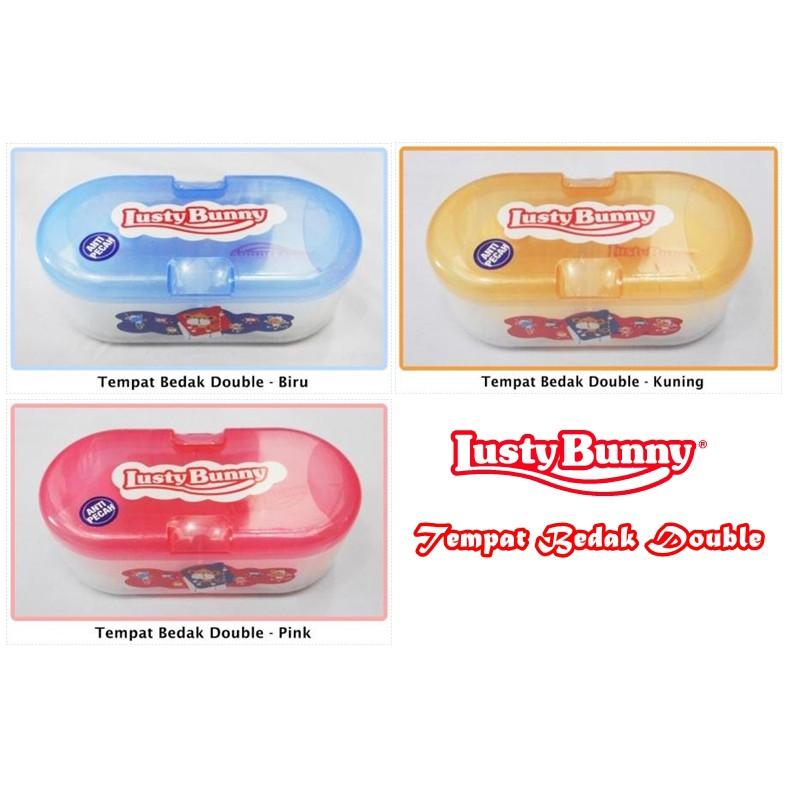 Lusty Bunny Oval Case TB 1603 Baby Powder Tempat Bedak Bayi | Shopee Indonesia