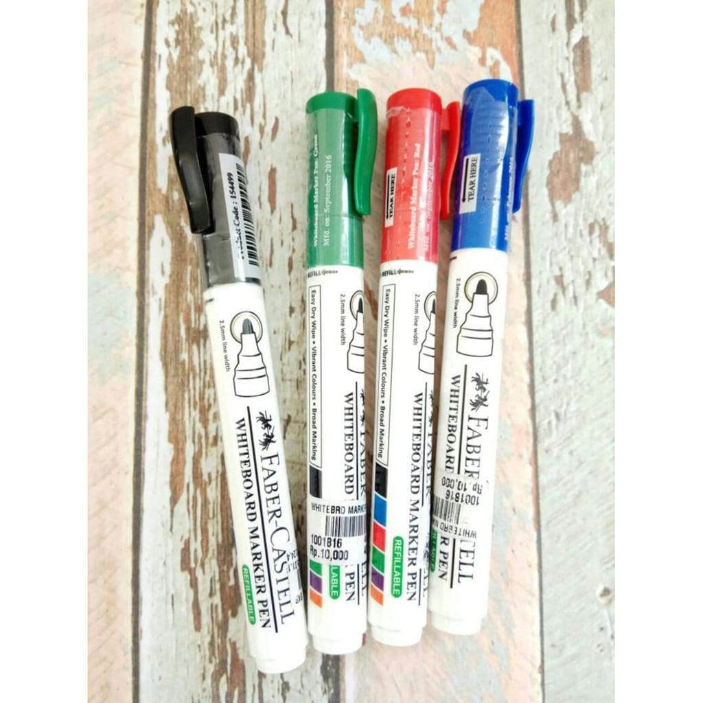 Spidol Whiteboard Marker Pen Eco Faber Pcs Shopee Indonesia Joyko Gel Gp 181 Batique 12 Tinta Hitam