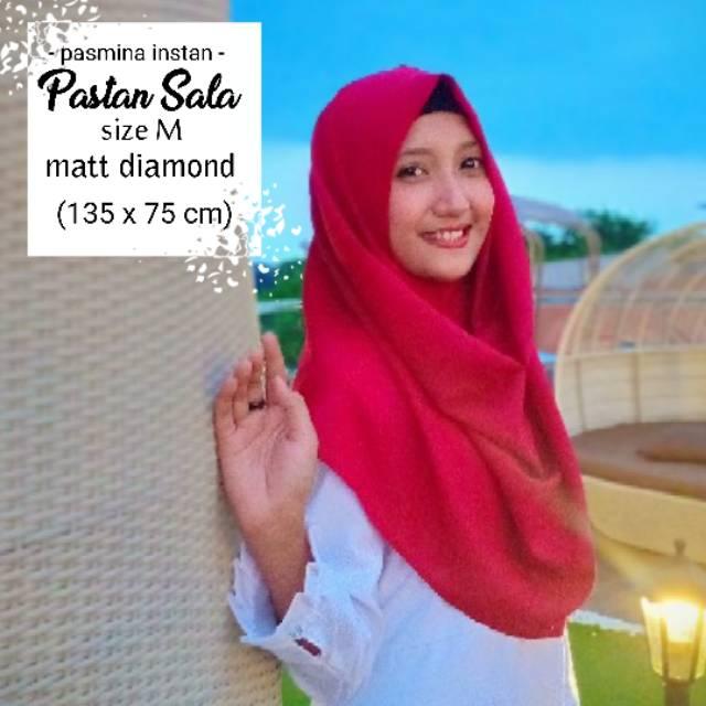 Pashmina Instan Sala Medium / Pashtan Jilbab Instant / Pasmina Instan Kerudung Hijab Grosir | Shopee Indonesia