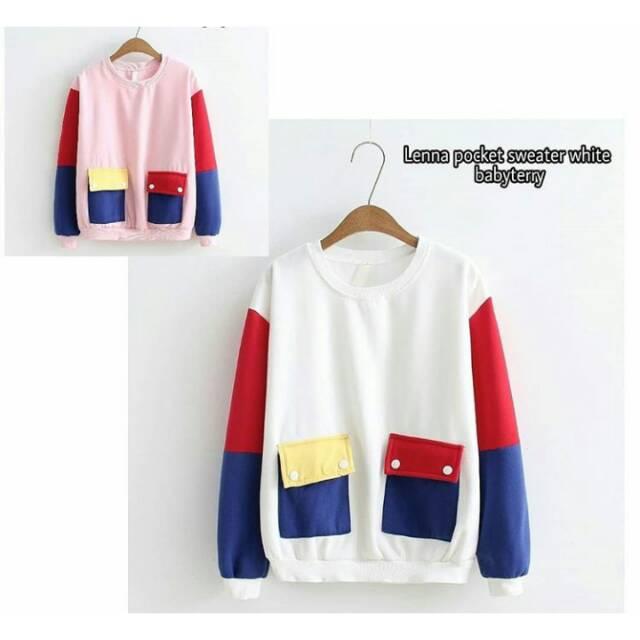01dadd33d817ae Sweater unicorn little pony full warna | Shopee Indonesia