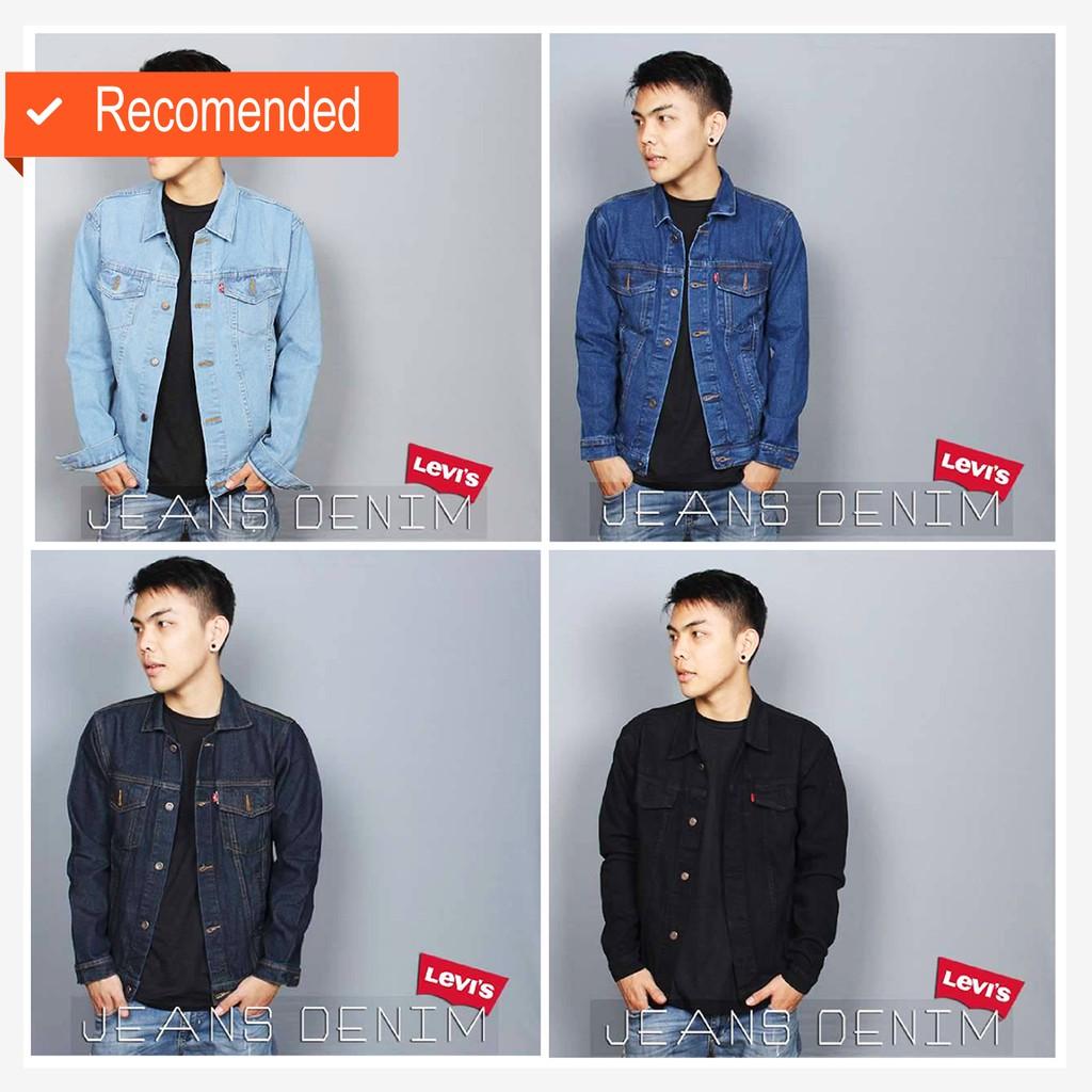 Galfinc Jaket Jeans Blue Jagger Shopee Indonesia Jean Pria Biru Tua Jak 2044 Inc