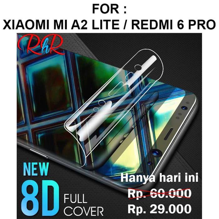 HYDROGEL SCREEN GUARD Xiaomi Mi A2 Lite - Redmi 6 Pro anti gores full layar