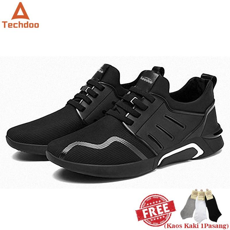 Techdoo Import Sepatu Olahraga Running Shoes Sepatu Pria Untuk