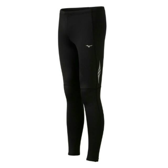 Mizuno Original Men Breath Thermo Tights Running Legging Compression Celana Lari Pria Baselayer Gym Shopee Indonesia