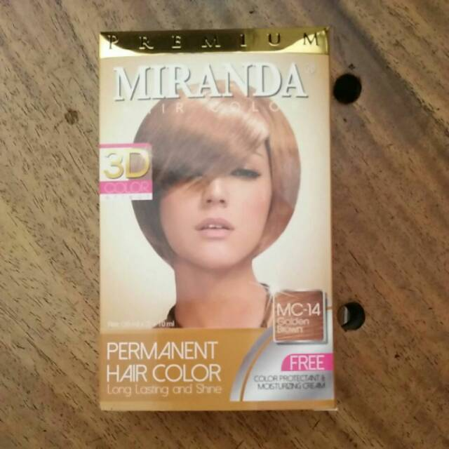 Pewarna Cat rambut hair color Miranda Bleaching putih decoloring ... 7ed5cec197