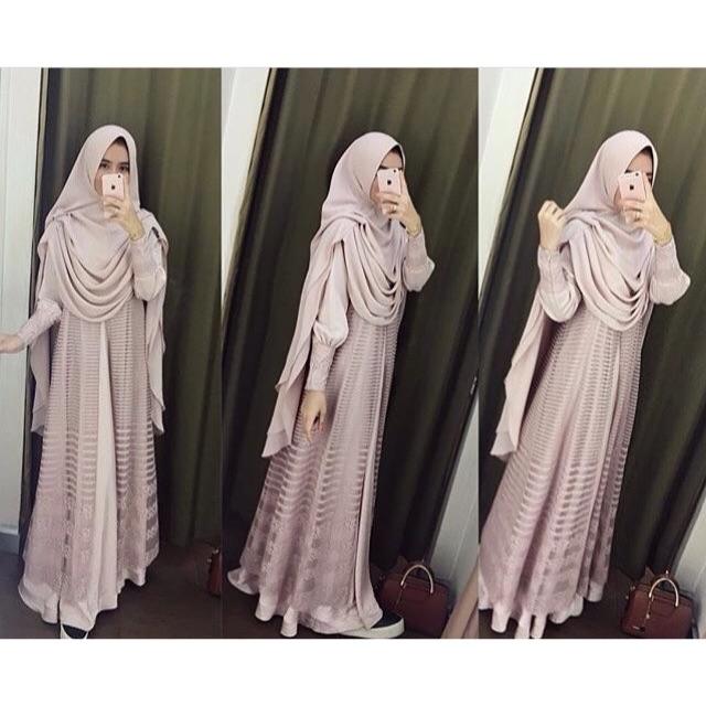 Khimar Stude By Iyaluna Hijab Shopee Indonesia
