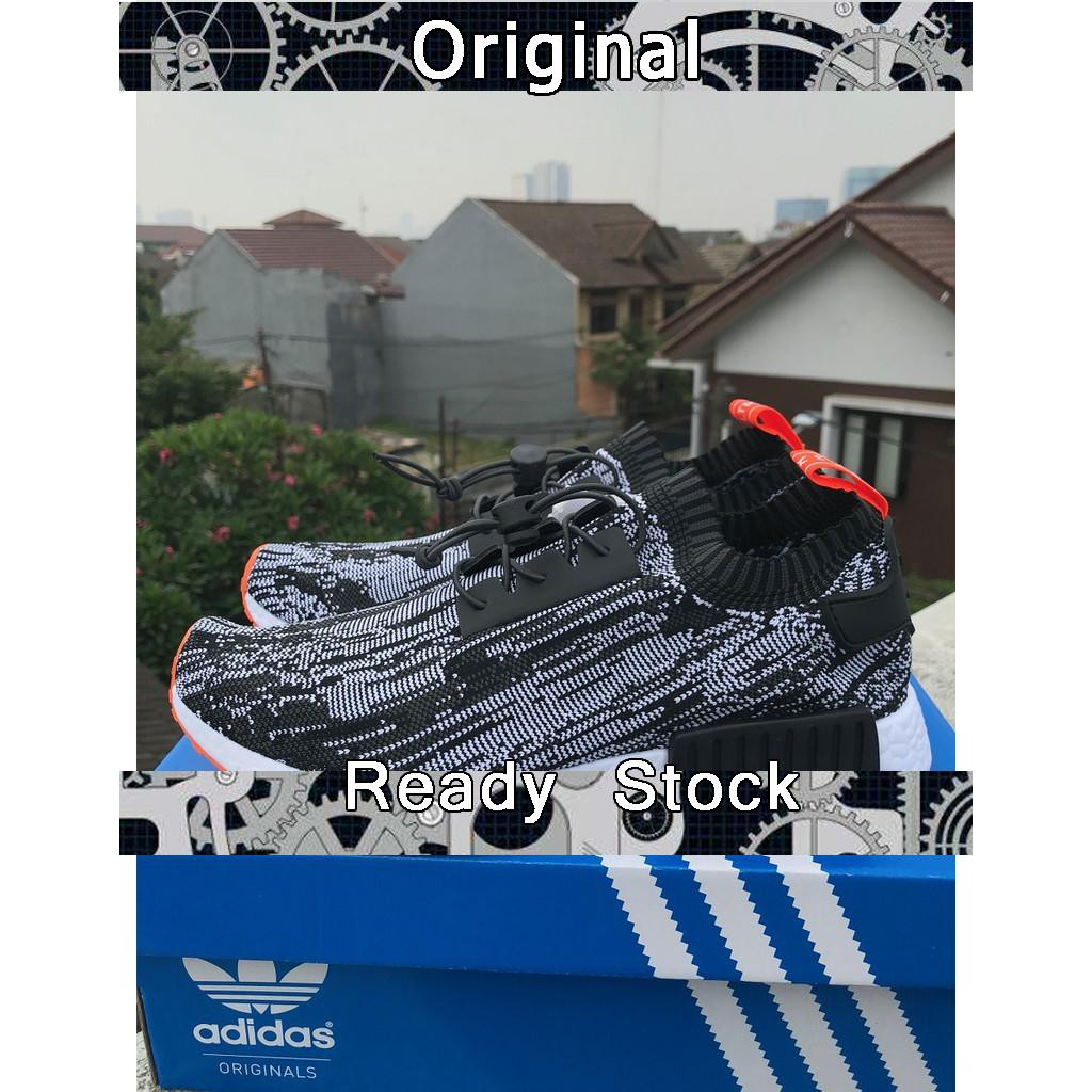 58d0c5691 ADIDAS NMD R1 FireStarter Oreo High Premium Original Sepatu Shoes ...