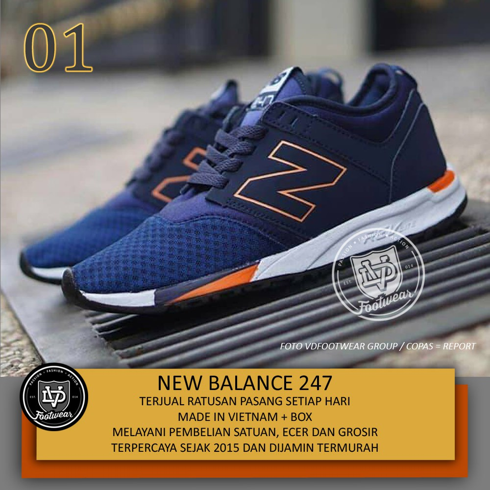 Sepatu NB New Balance hitam Encap  501dd59892