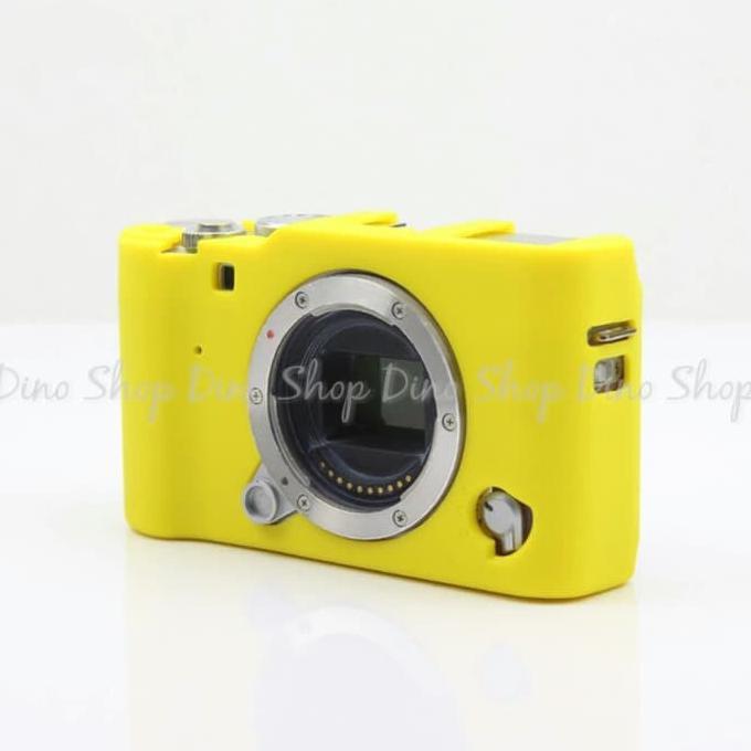 Rajawali Silicone Case For Fujifilm X A2 X A1 X M1 Yellow - Daftar Update Harga Terbaru Indonesia