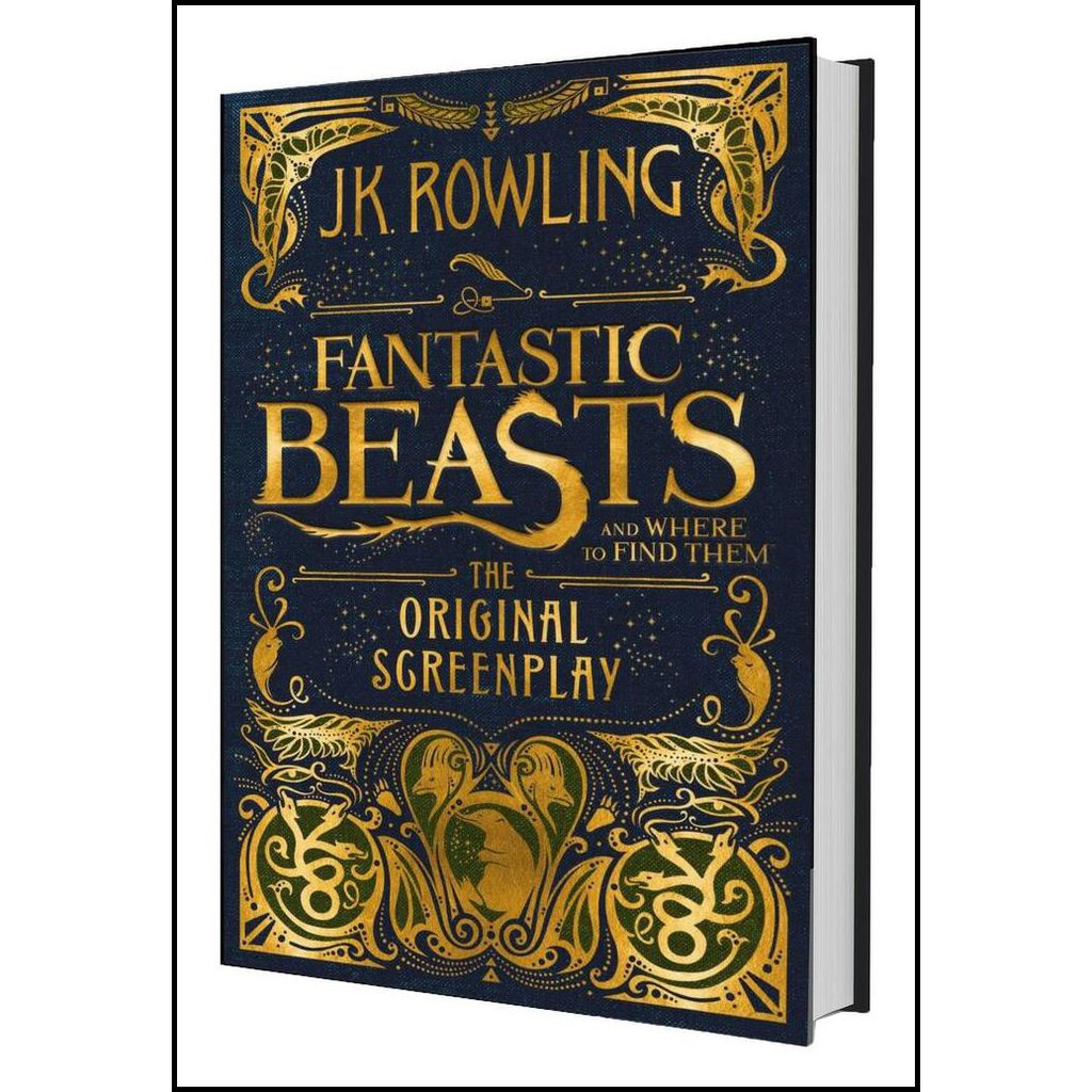 HARRY POTTER: FANTASTIC BEAST AND WHERE TO FIND THEM BUKU NOVEL IMPORT --- BUKU LUCU | Shopee Indonesia