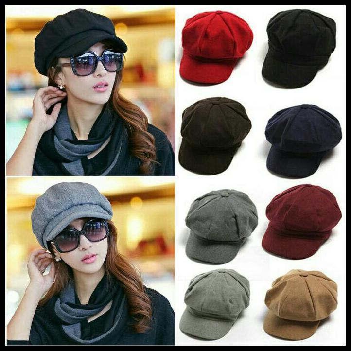 TERBARU Topi Fedora Merah Marun Woll Hat with Pin Feather Import HAT0227009  KEKINIAN 2017  c8e4eb8305