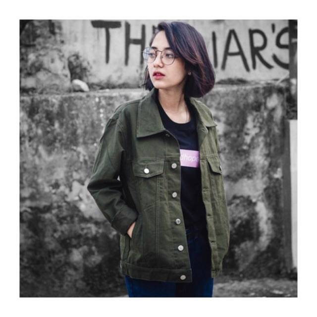 76+ Model Jaket Jeans Army Paling Bagus