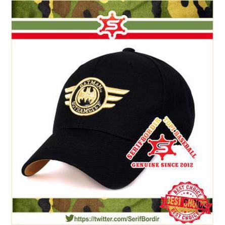 Topi Baseball Superman Metro Hitam Topi Bordir Import Topi Golf  terlaris  5bb73103a7