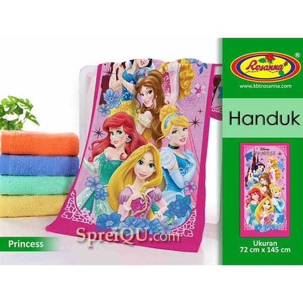 Handuk Rosanna Printing Panel 72x143 Princess | Shopee Indonesia -. Source · Rosanna Handuk Keroppi