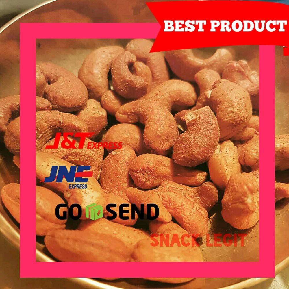 Kacang Mete Mede Utuh Cashew Nut Pedas Balado Sambalado Premium 500 Teri Medan Special 200 Gram Shopee Indonesia