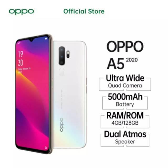 Oppo A5 2020 4 128 Garansi Resmi Oppo Indonesia Shopee Indonesia