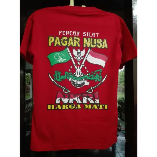 Kaos Pagar Nusa Nkri Shopee Indonesia