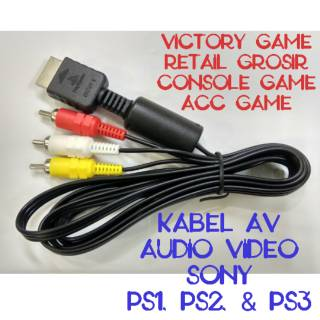 KABEL KOMPONEN PS2 dan ps3 | Shopee Indonesia