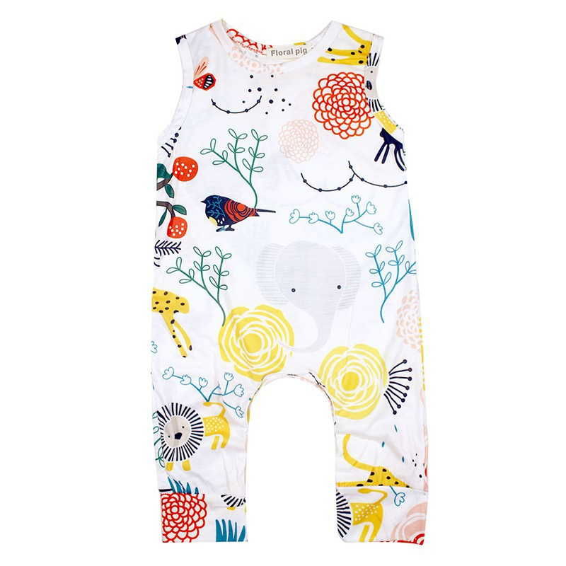 Newborn Baby Bodysuit Cotton Romper Infant Boy Jumpsuit Kids Clothes Outfit   Shopee Indonesia