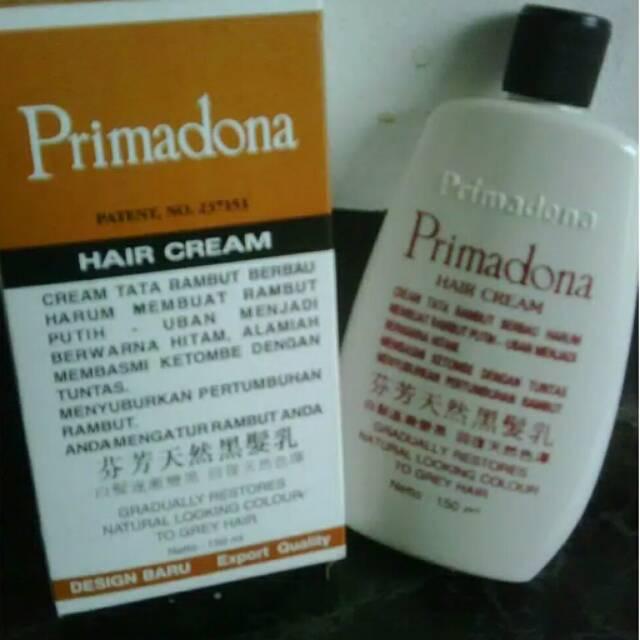 PRIMADONA HAIR CREAM PENGHITAM RAMBUT HARUM, MENGHITAMKAN UBAN | Shopee Indonesia