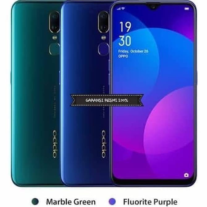Hp Oppo F 11 Handphone Oppo F11 Ram 4 Memory 64 Gb Fluorite Purple Shopee Indonesia