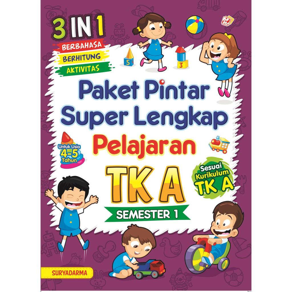 Paket Pintar Super Lengkap Pelajaran Tk A Semester 1 Shopee Indonesia