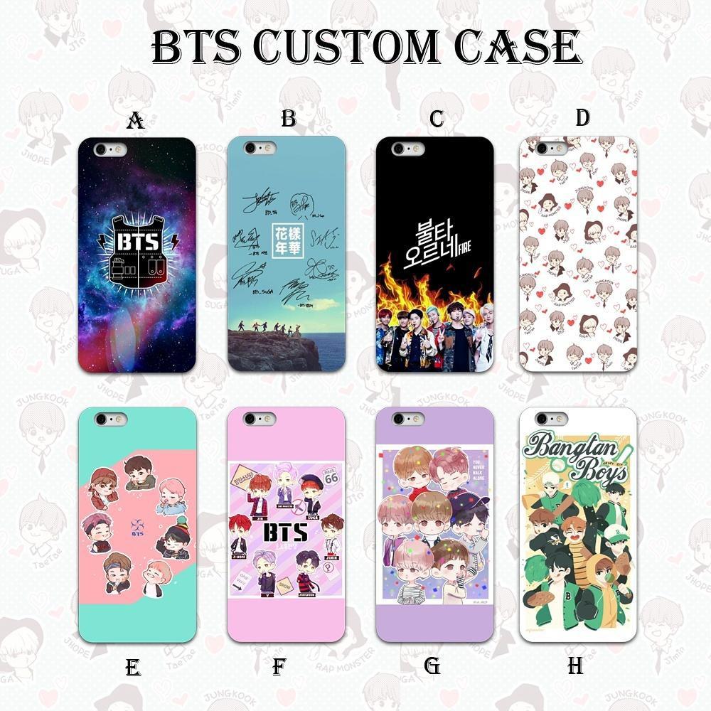 huge selection of 17003 d99e1 1 HARI JADI !! Custom Case HP - BTS Bangtan Boys Korea (HAMPIR SEMUA TYPE  HP)