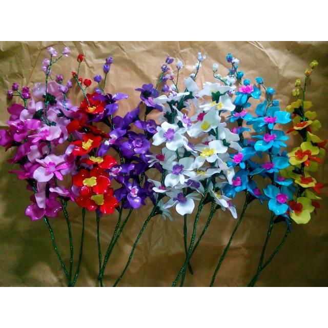 Bunga Anggrek Akrilik Satuan Shopee Indonesia