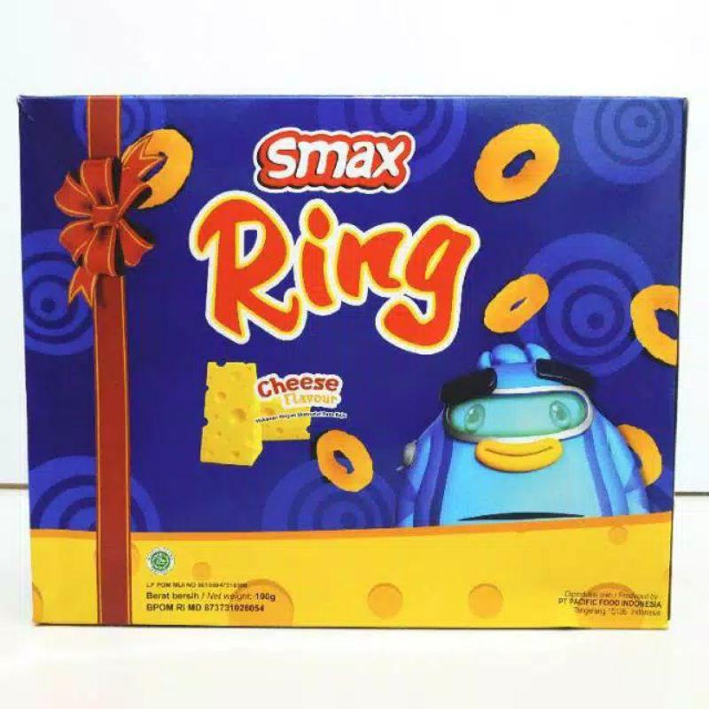 Smax Ring Box Cheese 100g