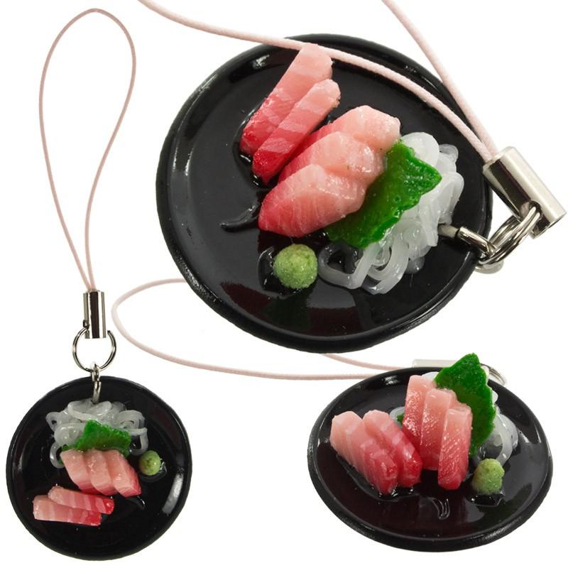 Gantungan Hp Replika Makanan Jepang Tuna Sashimi Shopee Indonesia