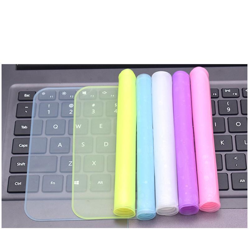 Ulasan Lengkap 10.0/12.0/14.0/15.0 inch Universal Silicone Keyboard Protector cover for laptop - Belanja Toko Edi Sugiyanto