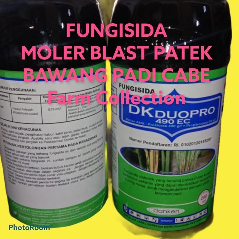 DKDUOPRO 490ec 250ml Fungisida moler Bawang Hawar Padi Patek Cabai