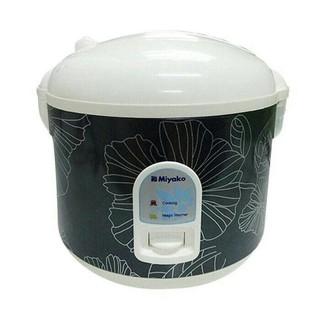 Miyako Rice Cooker MCM528 / MCM 528 Black/Silver [1,8L] -