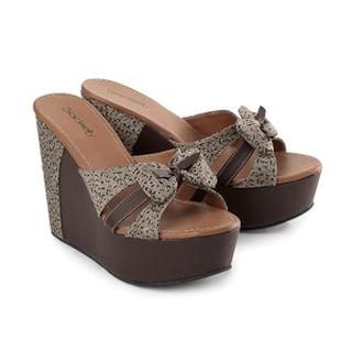 00ef844fff13 Sepatu Wanita Original - Sandal Wedges Cewek Tinggi 12 Cm - Sandal ...