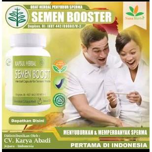 Obat Herbal Penyubur Sperma, Pengental Sperma Pria Herbal - Semen Booster | Shopee Indonesia