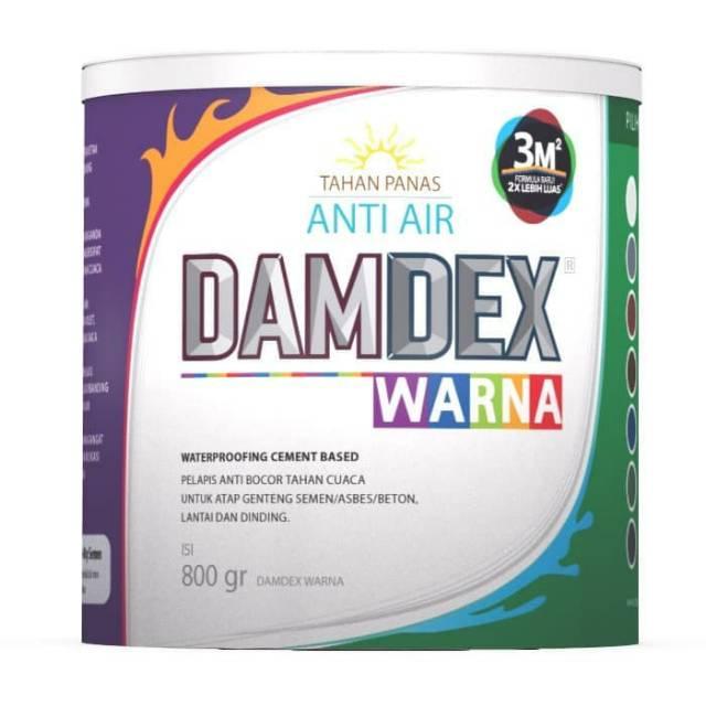 Damdex Warna 800 Gr Waterproofing Cement Based Shopee Indonesia