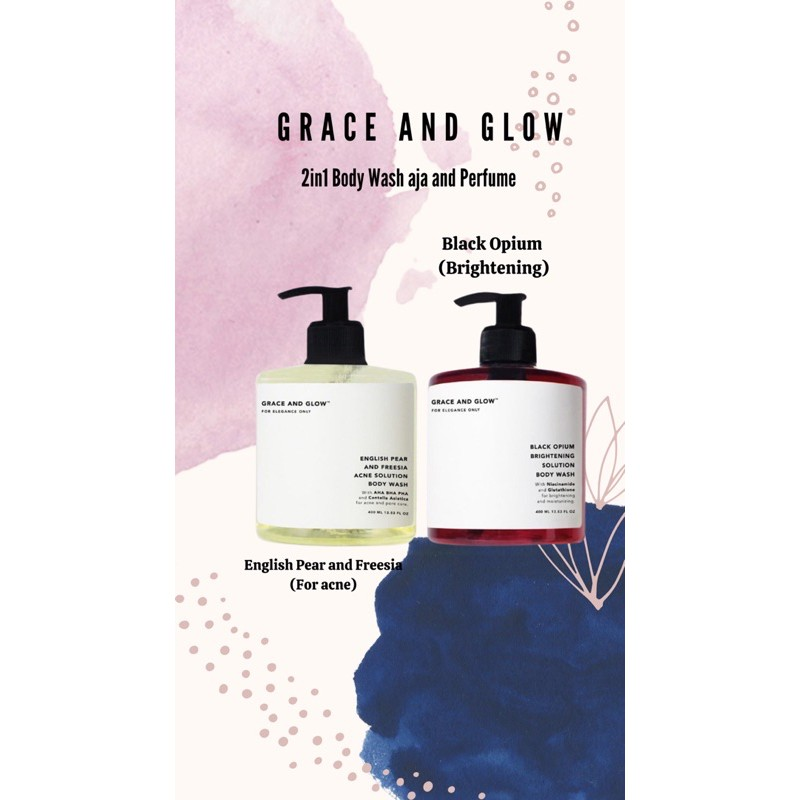 GRACE AND GLOW 2in1 BODY WASH AND PERFUME