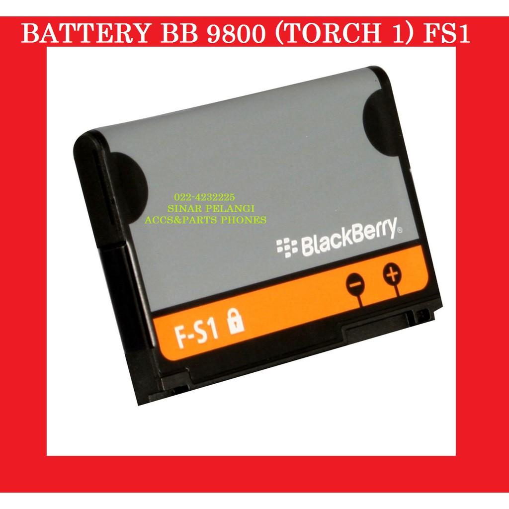 BB BLACKBERRY 9800 TORCH 1 FS1 1270MAH PR NEW ORI 99% BATTERY ...
