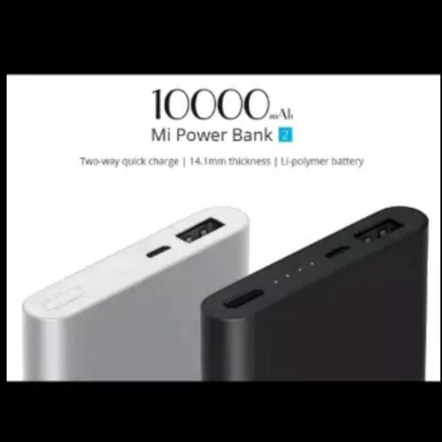 POWER BANK XIAOMI MI PRO 2 POWERBANK 10000mAh FAST CHARGING ORIGINAL XIAOMI