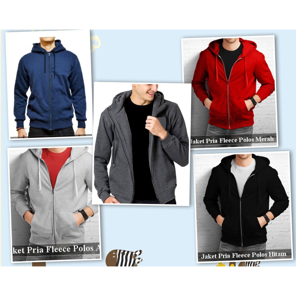 Jaket hoodie twotone absolute abu ab15  dea2211010