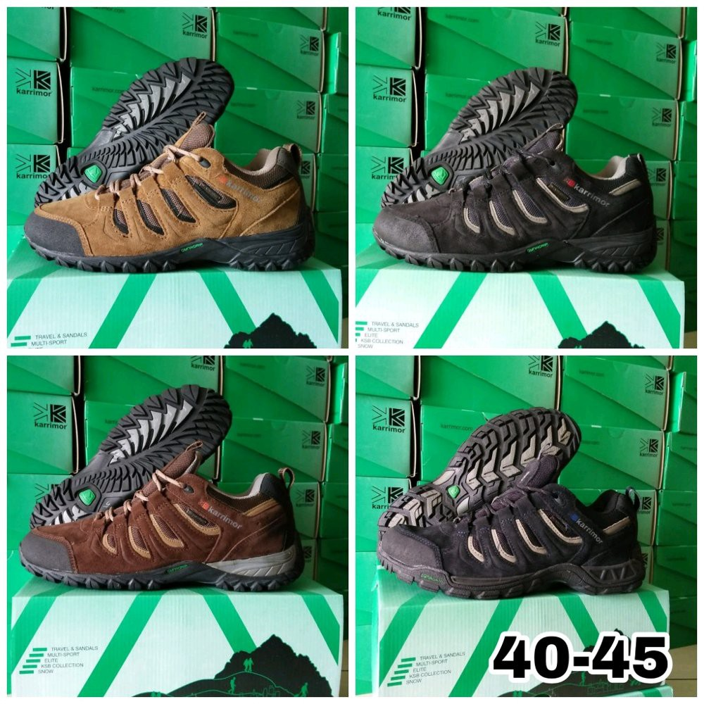 Sepatu Outdoor Karrimor Mount Low Original Made In Indonesia ... 461428a14f