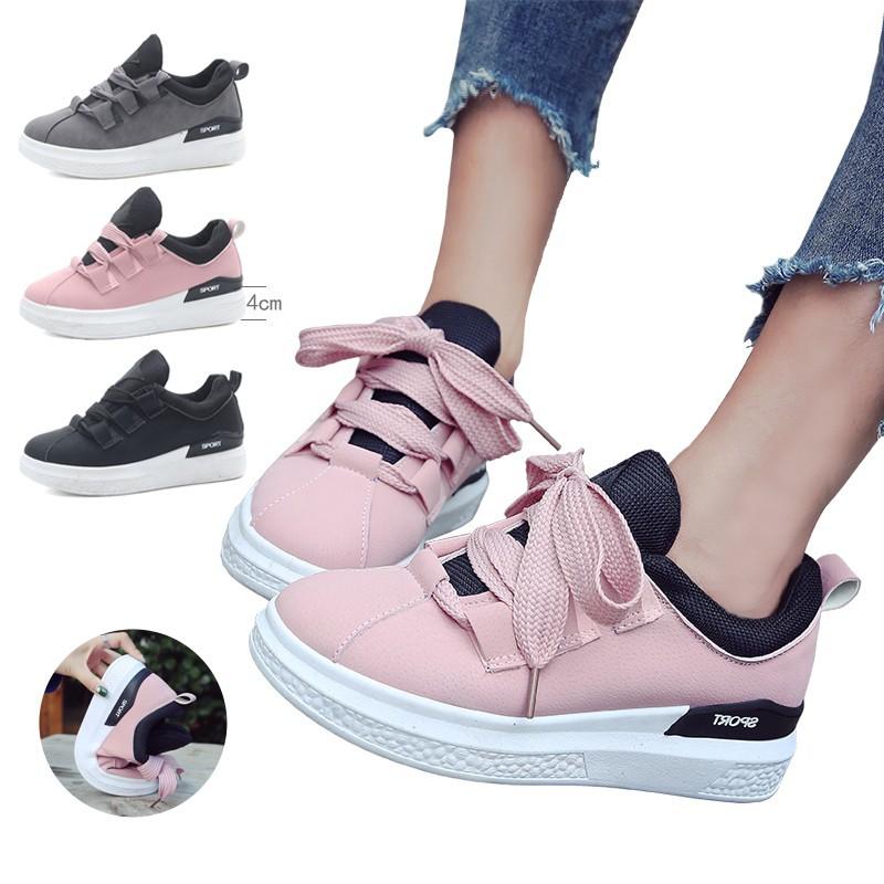 Ready Sepatu Sneakers Bertali Wanita import A11 (3593)  0179eb761b