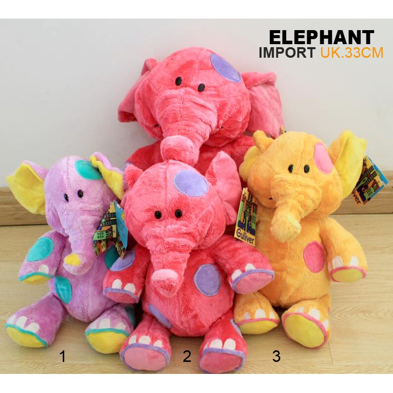 SPECIAL boneka gajah elephant import animal 50cm hewan MURAH MERIAH ... 3df79edbb3