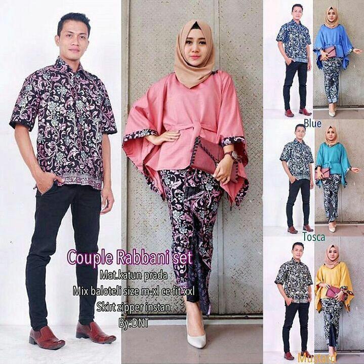 Baju Batik Seragam Keluarga Tanah Abang: Keluarga Batik Couple Sarombit Seragaman Kondangan Tanah