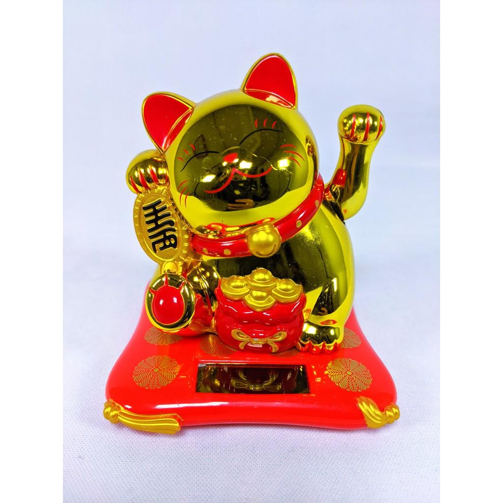 Boneka Kucing Keberuntungan Maneki Neko Shopee Indonesia