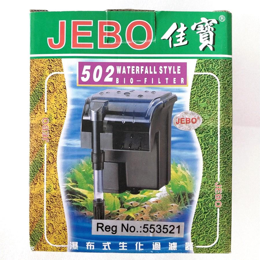 JEBO 502 HANG ON FILTER POMPA AQUARIUM ORIGINAL | Shopee ...