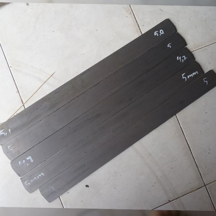 Jual baja bohler K110 panjang 60cm setara aisi D2 bukan Sleipner A88 vanadis elmax VG10 PM23 Murah