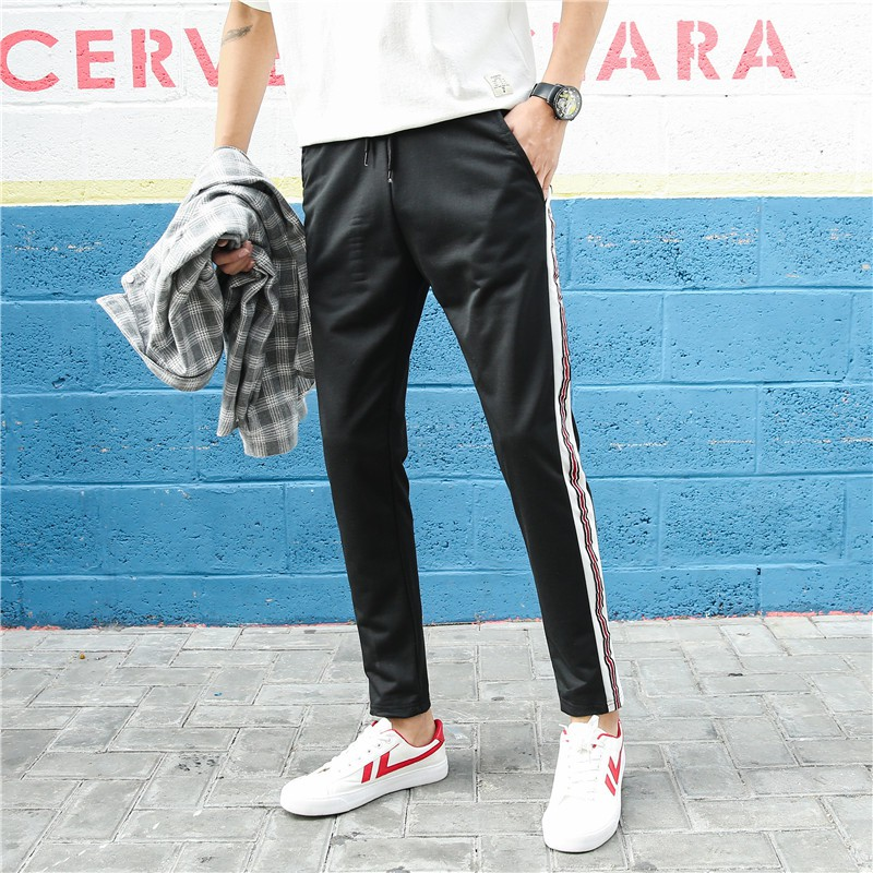 Celana Panjang Pria Polos Basic Jogger Pant Sweatpant Joger pants Training Brooklyn Okechuku | Shopee Indonesia