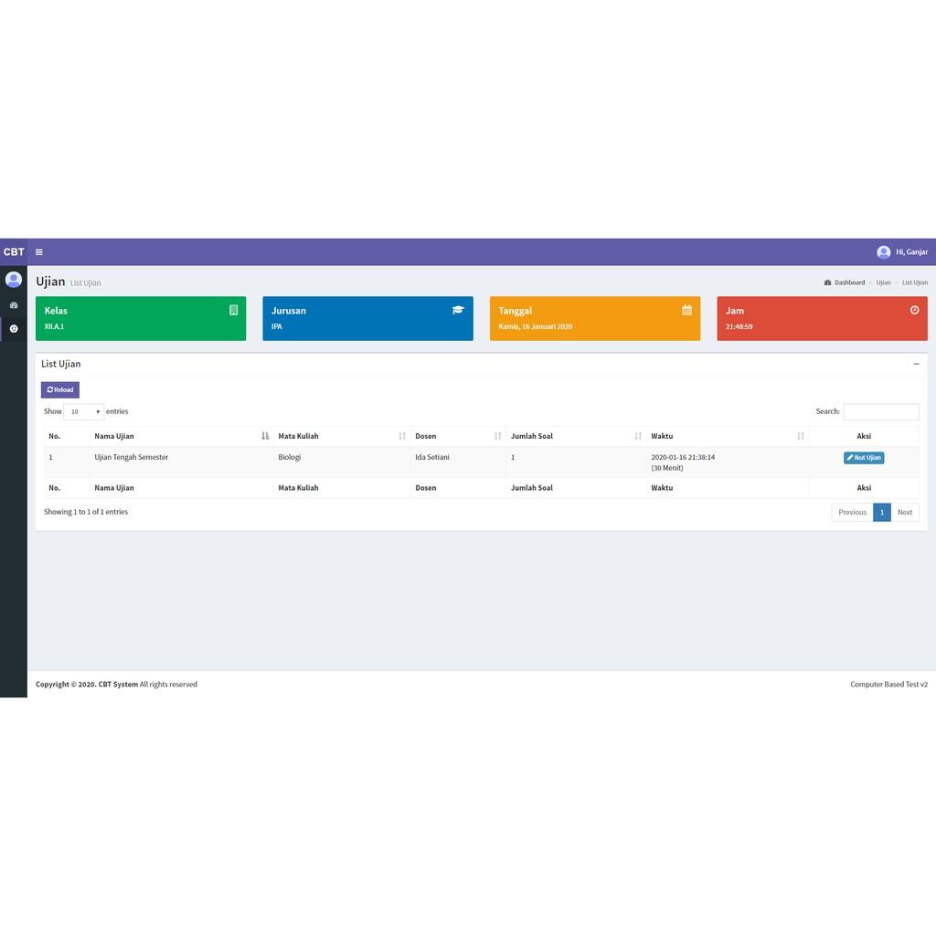 Aplikasi Ujian Online Berbasis Komputer Cbt Shopee Indonesia